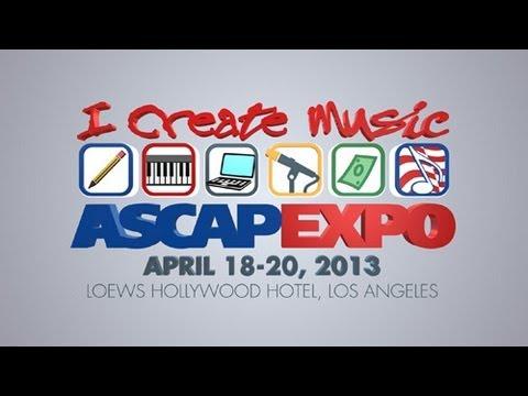 "2013 ASCAP ""I Create Music"" EXPO Teaser"