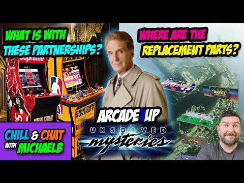 Partnerships and Replacement Parts Arcade1Up Unsolved Mysteries | MichaelBtheGameGenie from MichaelBtheGameGenie