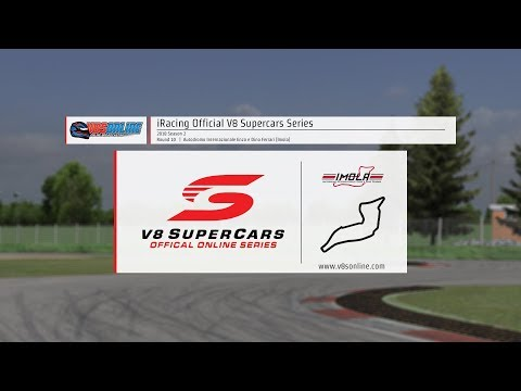 iRacing Official V8 Supercar Series - Round 10, Imola