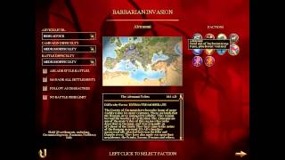 rome Total War BI обзор фракций