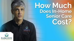 How Much Does It Cost For In-Home Senior Care?