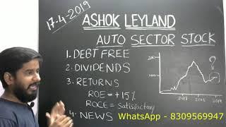 ashok leyland stock మరియు ఆటో సెక్టార్ యొక్క విశ్లేషణ and auto sector