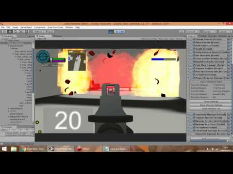 Released] Game Kit Controller - Engine with weapons