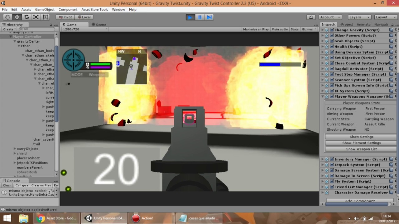SALE 50% OFF] [Released] Game Kit Controller - Engine with weapons