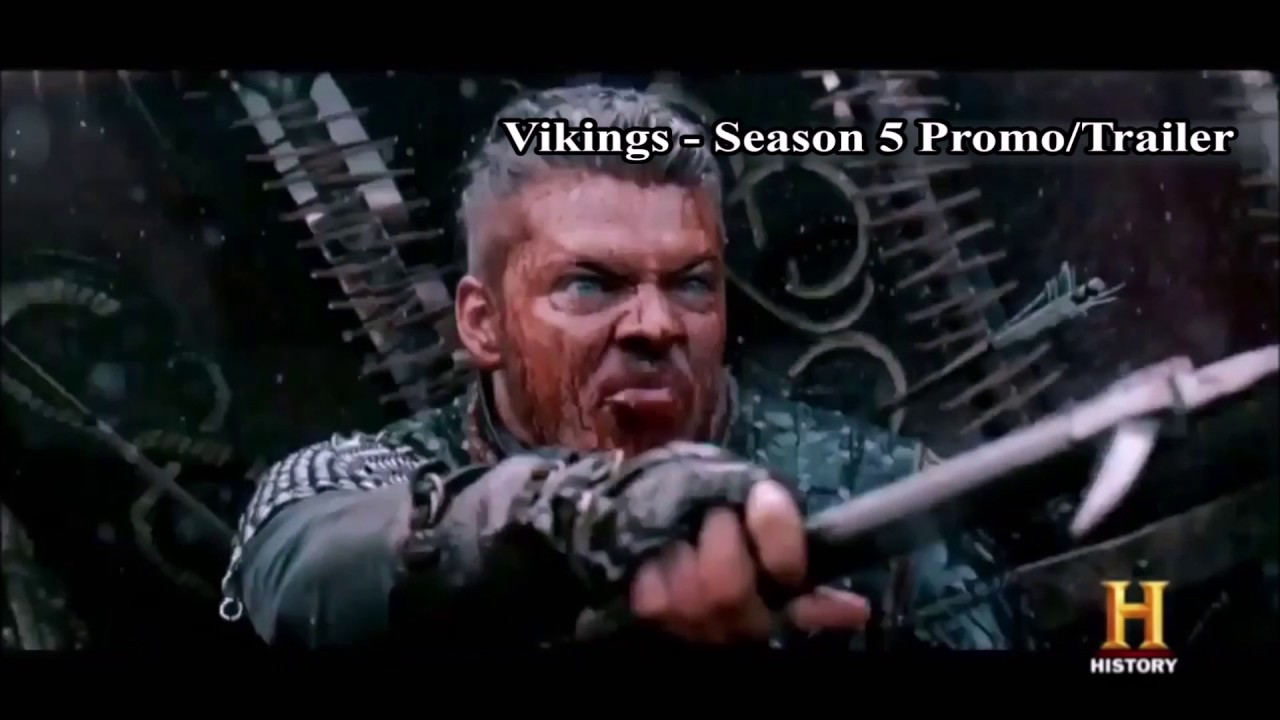 vikings season 5 promo trailer preview youtube