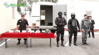 Президент Кыргызстана принял участие в открытии базы полка специального назначения МВД