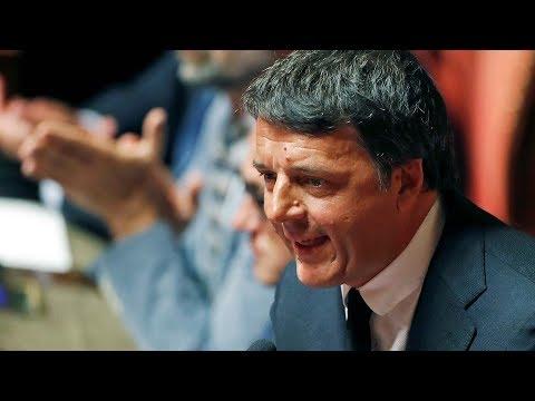 Italian prime minister resigns