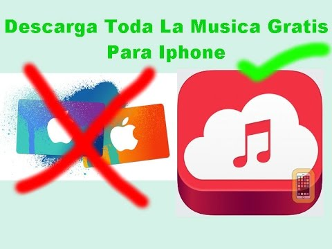 descargar musica gratis iphone 5