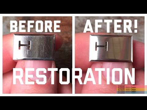 How To Remove Scratches & Polish a Watch Clasp or Bracelet Without Power Tools