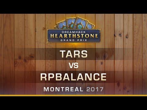 Tars vs RPBalance - Dreamhack Montreal 2017 Round 8