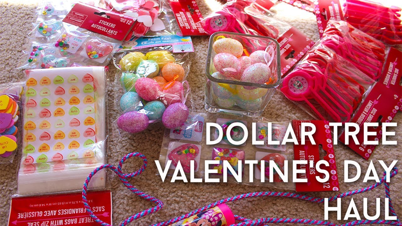 Dollar Tree Valentine S Day Haul Kids School Treat Ideas 2018