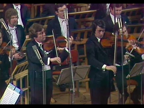 Viktor Tretyakov & Yuri Bashmet play Bruch Double Concerto - video 1985