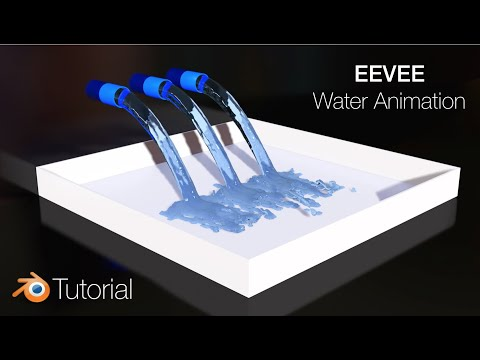 [2.8] Blender Tutorial: Water Simulation In EEVEE, Nearly Real-Time
