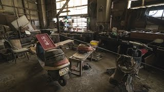 Abandoned Coal Mining Factory 1000's worth of equipment inside