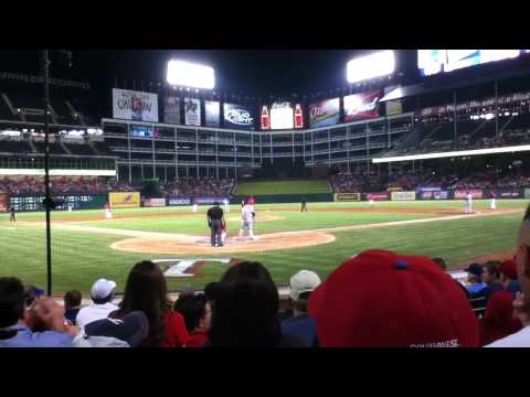Texas Rangers Baseball Game