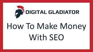 How to make money online with seo in 2017 - 4 methods