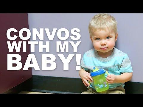 CUTE BABY CONVERSATION!!