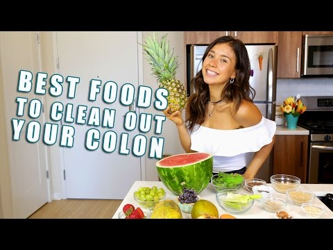 BEST FOODS TO CLEAN YOUR COLON