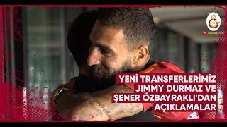 🎙 Yeni Transferlerimiz Jimmy Durmaz ve Şener Özbayraklı'dan Açıklamalar - Galatasaray