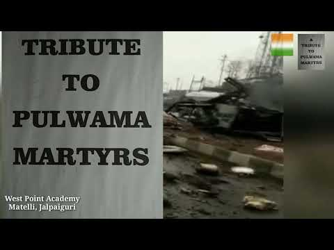 Matelli West Point Academy tributes to the martyrs of Pulwama attacks