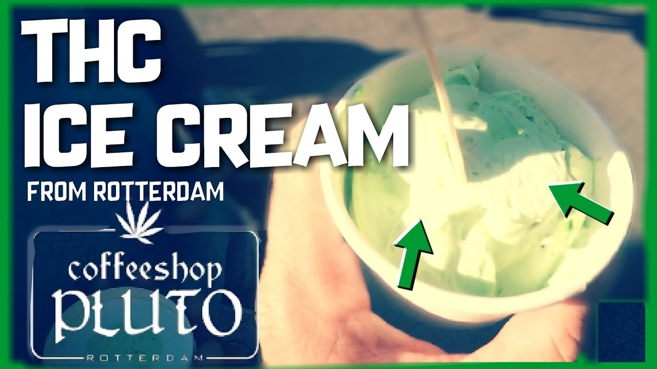 Ice Cream Made With Cannabis From Plutos Coffeeshop