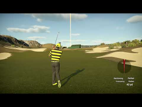 The Golf Club 2 (PS4 Pro): Woodlands & Wildlife Society - The Coyote Classic Round 2