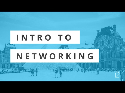 Workshop Wednesday / Intro to Networking