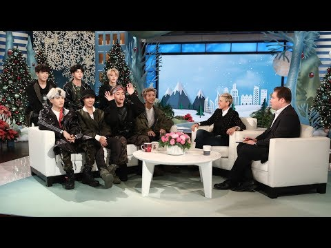 Ellen Makes Friends with BTS!