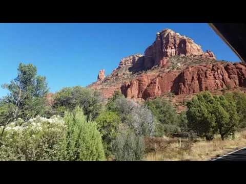 Sedona Trolley to the Holy Chapel 11/12/16