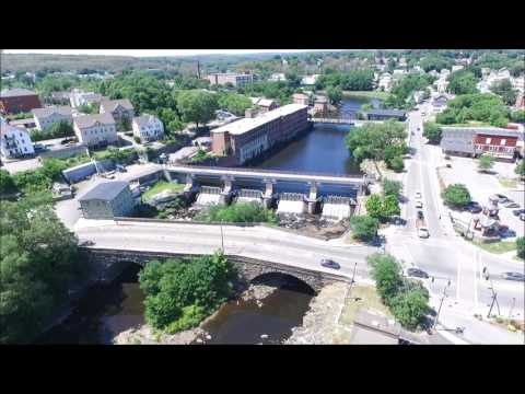 Woonsocket RI:  A Drone's Eye View