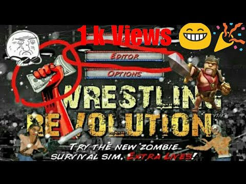 How To Download Wrestling Revolution 1.932 Mod Apk.Not Fake