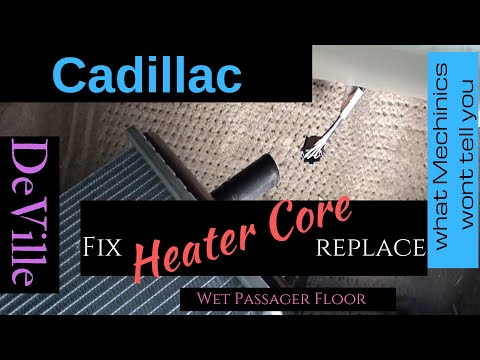 Cadillac  | How to Replace Leaking Heater Core | DIy | Autozone