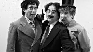 """Character Study: Backstage With The Marx Brothers During """"animal Crackers"""""""