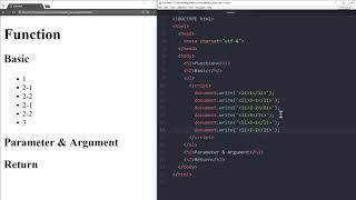 WEB2 JavaScript - 25.함수