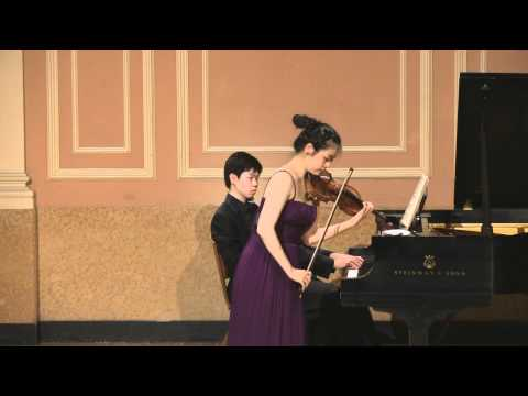 Dami Kim and Andrei Baumann plays Sarasate Carmen Fantasy Op.25 (SiMon)