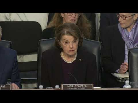 Feinstein won't vote for Barr unless Mueller report released