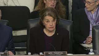 Feinstein won't vote for Barr unless Mueller report released