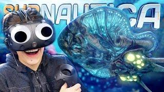 SUBNAUTICA IN VIRTUAL REALITY!? | Subnautica VR Mode (HTC Vive) - #1