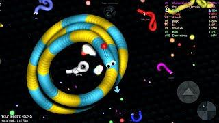 Slither.io - Biggest Snake High Score and First || Android/iPad/iOS Gameplay