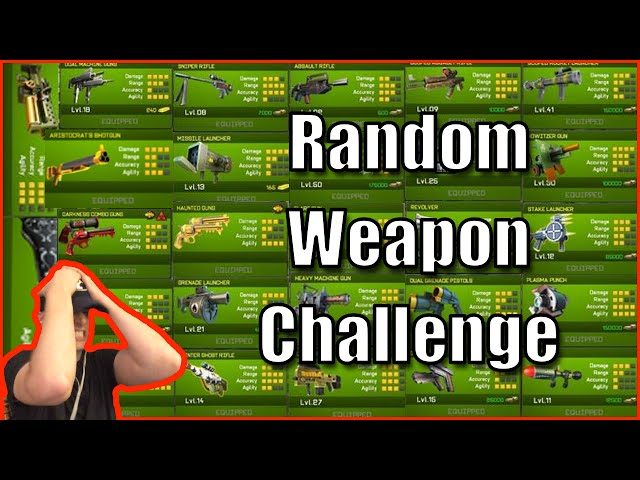 Respawnables Random Weapon Challenge - Giveaway Rant