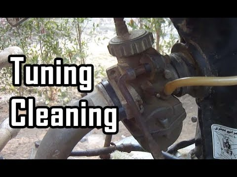 How to cleaning/tuning motor cycle's carburetor