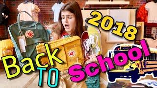 Back to school 2018 America Крутые Кеды и Рюкзаки для школы 2018! Vans KANKEN! Shopping