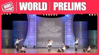 Act Up - Italy (Junior) @ HHI 's 2013 World Hip Hop Dance Championship