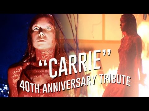 CARRIE 1976 40th Anniversary Tribute, Sissy Spacek, Brian DePalma