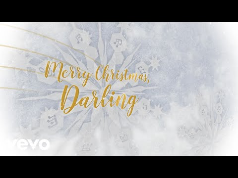 The Carpenters - Merry Christmas, Darling (Lyric Video) Mp3