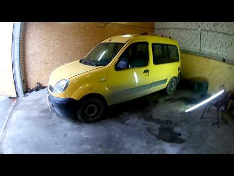 Рено Кенго  Renault Kangoo 1.5 dCi  не заводится ч1