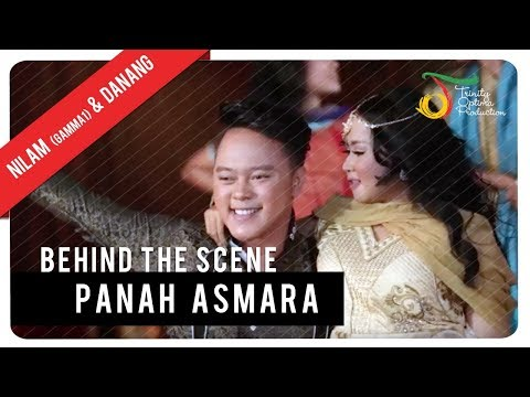 Nilam (Gamma1) & Danang - Panah Asmara | Behind The Scene