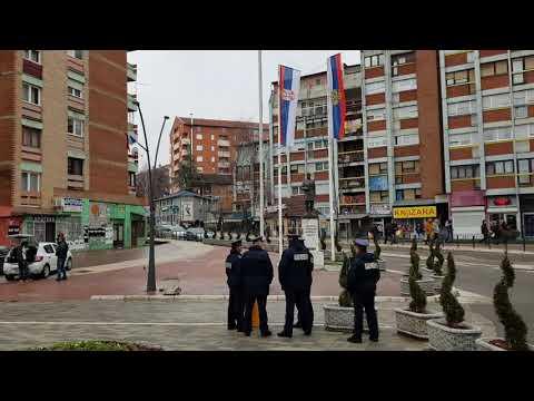 Kosovska Mitrovica, dan nakon hapšenja Marka Đurića