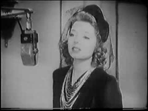 Frances Langford / Ann Miller Who Am I 1940