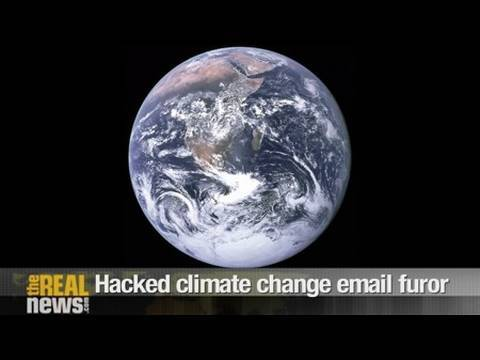 Hacked climate change email furor
